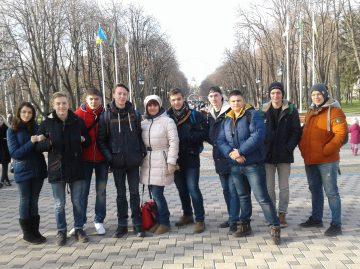 Студенти Первомайського коледжу у місті Харків